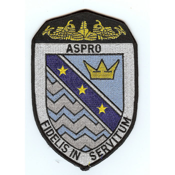 SSN-648 USS ASPRO Nuclear Attack Submarine patch A VERSION