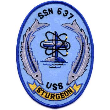 SSN-637 USS Sturgeon Patch