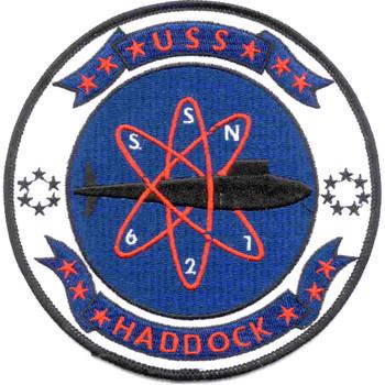 SSN-621 USS Haddock Patch