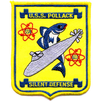 SSN-603 USS Pollack Patch