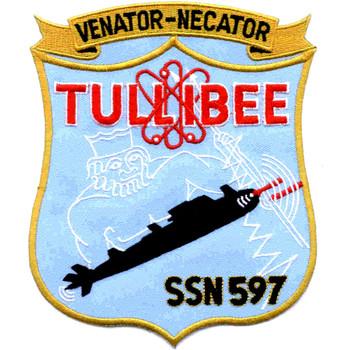 SSN-597 USS Tullibee Patch