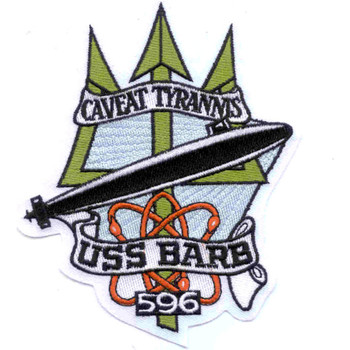 SSN-596 USS Barb Patch