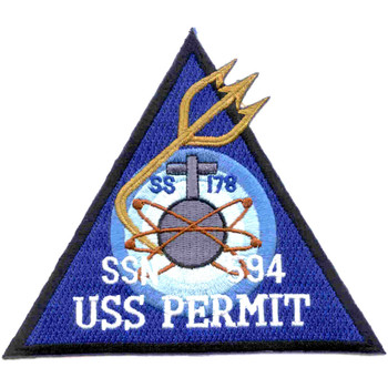 SSN-594 USS Permit Patch