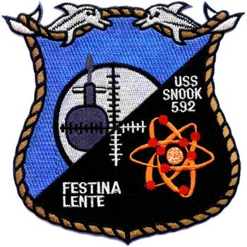 SSN-592 USS Snook Patch - Version A