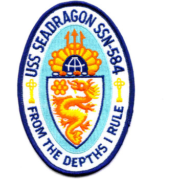 SSN-584 USS Sea Dragon Patch