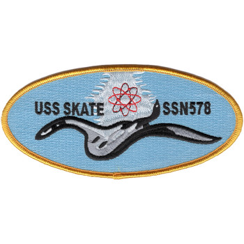 SSN-578 USS Skate Patch