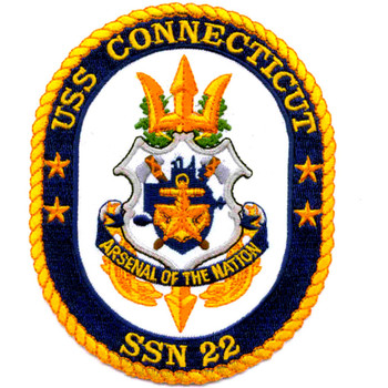 SSN-22 USS Connecticut Patch