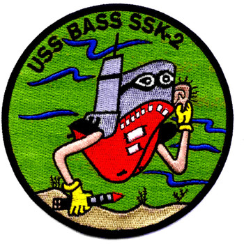 SSK-2  USS Bass Patch
