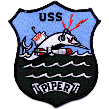 SS-409 USS Piper Patch - Version C