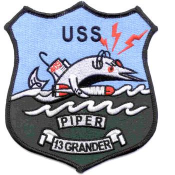 SS-409 USS Piper Patch-13 GRANDER