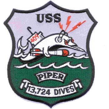 SS-409 Piper Patch-D-13724 DIVES