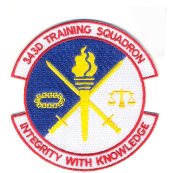 343rd Training Squadron Patch