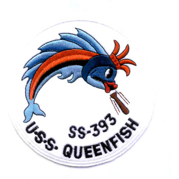 SS-393 USS Queenfish Patch - Version C