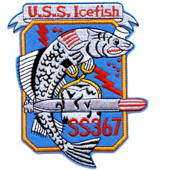 SS-367 USS Icefish Patch - Large