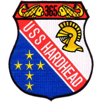 SS-365 USS Hardhead Patch - Version B