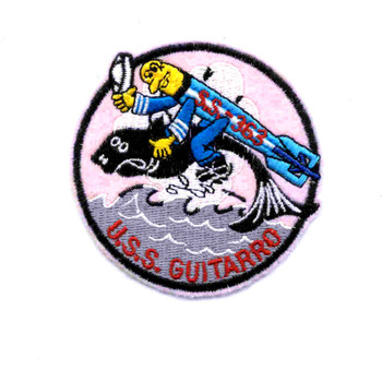 SS-363 USS Guitarro Patch - Small