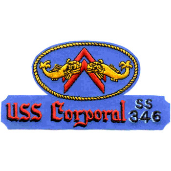 SS-346 USS Corporal Patch - Version A