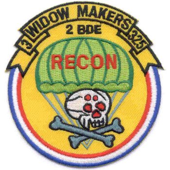 325th Airborne Infantry Regiment 3rd Brigade Patch
