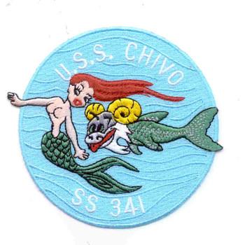 SS-341 USS Chivo Patch - Version B