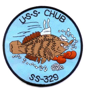 SS-329 USS Chub Patch