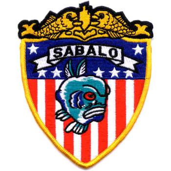 SS-302 USS Sabalo Patch - Version A