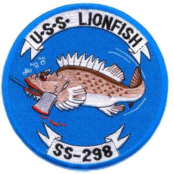 SS-298 USS Lionfish Patch