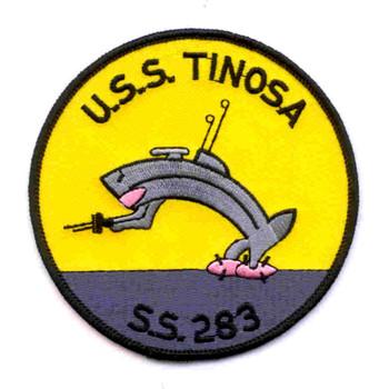 SS-283 USS Tinosa Patch - Version B
