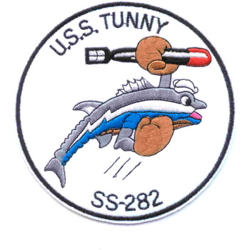 SS-282 USS Tunny Patch