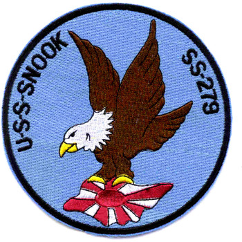 SS-279 USS Snook Patch