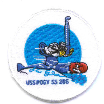SS-266 USS Pogy Patch - Small