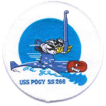 SS-266 USS Pogy Patch - Large