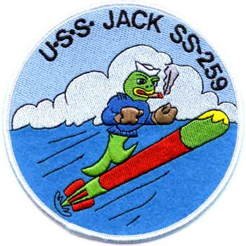 SS-259 USS Jack Patch
