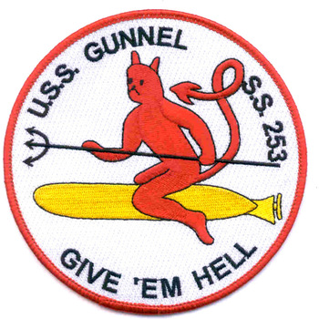 SS-253 USS Gunnel Patch