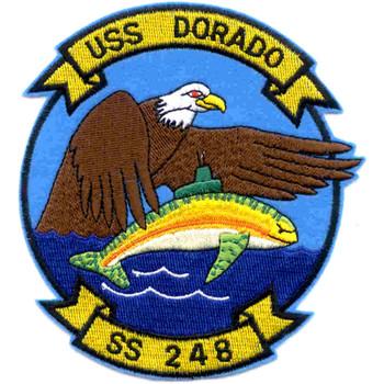 SS-248 USS Dorado Patch