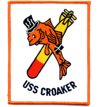 SS-246 USS Croaker Patch - Version A