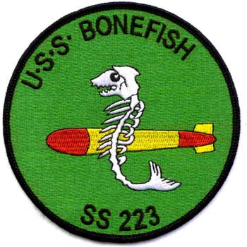SS-223 USS Bonefish Patch - Version B