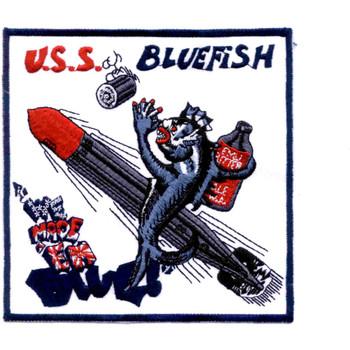 SS-222 USS Bluefish Patch