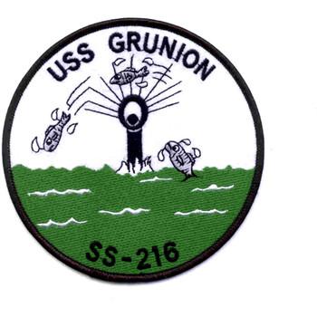 SS-216 USS Grunion Patch WWII