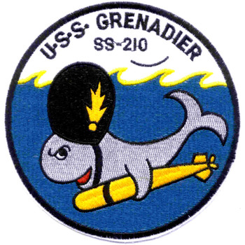 SS-210 USS Grenadier Patch