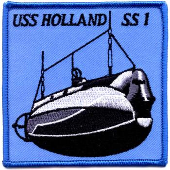 SS-1 USS Holland Submarine Patch