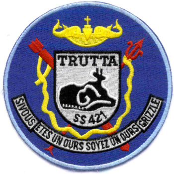 SS-421 USS Trutta Patch