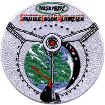 SP-268 NASA STS-72 Endeavour Gsfc Shuttle Laser Altimeter Deployment Patch