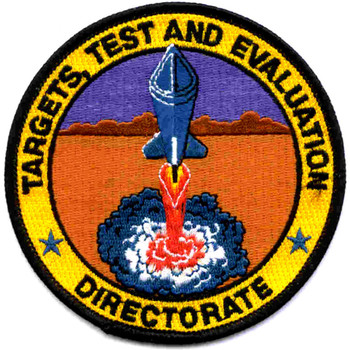 SP-267 NASA DOD Targets, Test And Evaluation Directorate Patch
