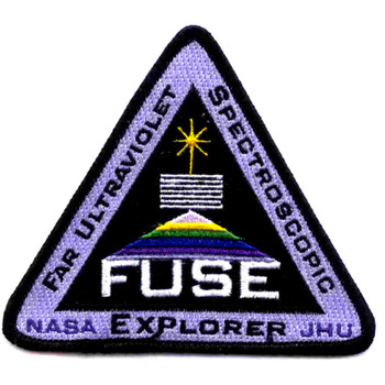 SP-263A NASA Delta II Rocket With Far Ultraviolet Spectrocoptic Telescope Patch
