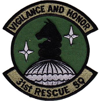 31st Rescue Squadron Patch