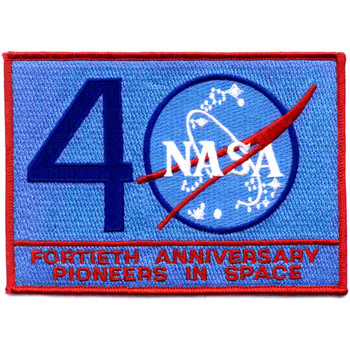 SP-251 NASA 40 Year Commemorative Pioneers In Space Patch