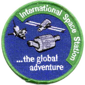SP-237 NASA International Space Station Patch