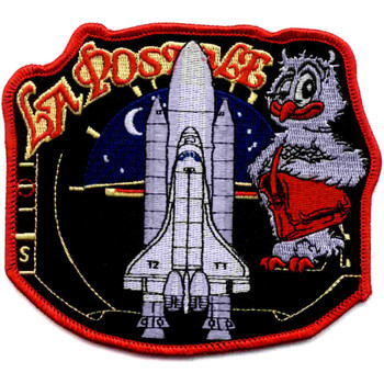 SP-233 NASA STS-134 Endeavour Mission ISS Assembly Patch