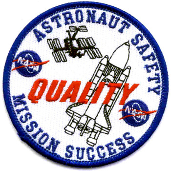 SP-227 NASA Astronauut Safety Quality Mission Success Patch