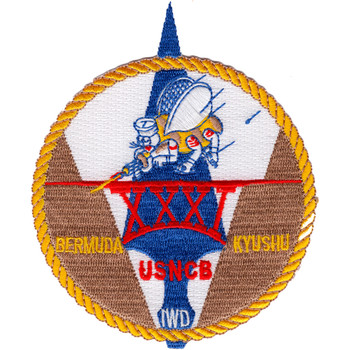 31st Naval Construction Battalion WWII Patch